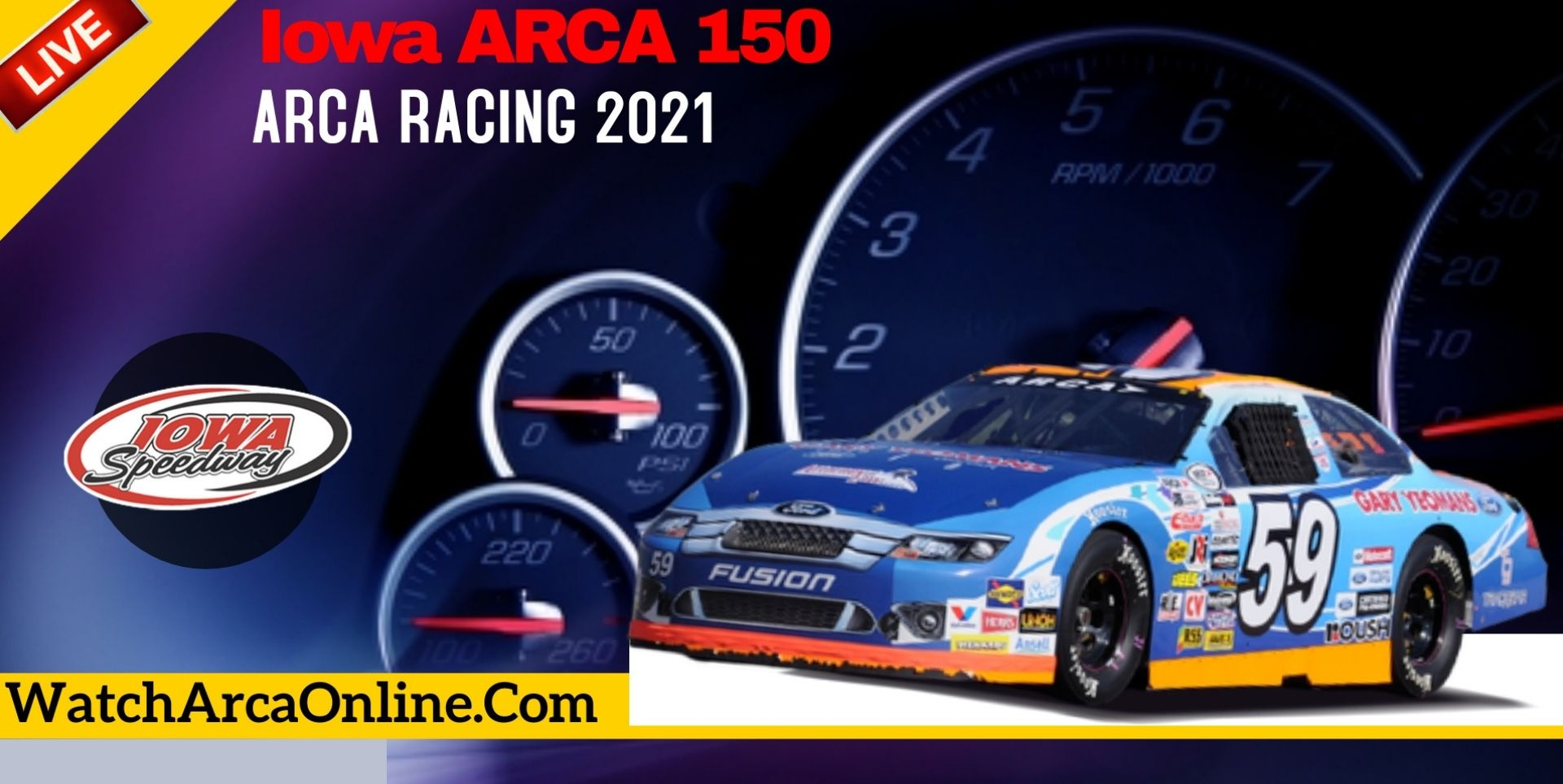 Iowa ARCA 150 Live Stream 2021 | Arca Racing