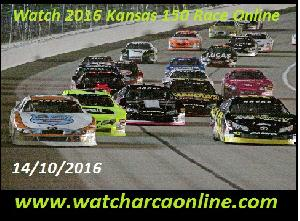 Watch 2016 Kansas 150 Race Online